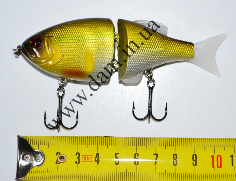 Вобллер EFFZETT POWER STRIKER - 2-JOINTED SWIMBAIT 11 CM - TENCH  5906411